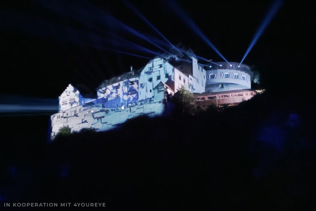 Projection Mapping Schloss
