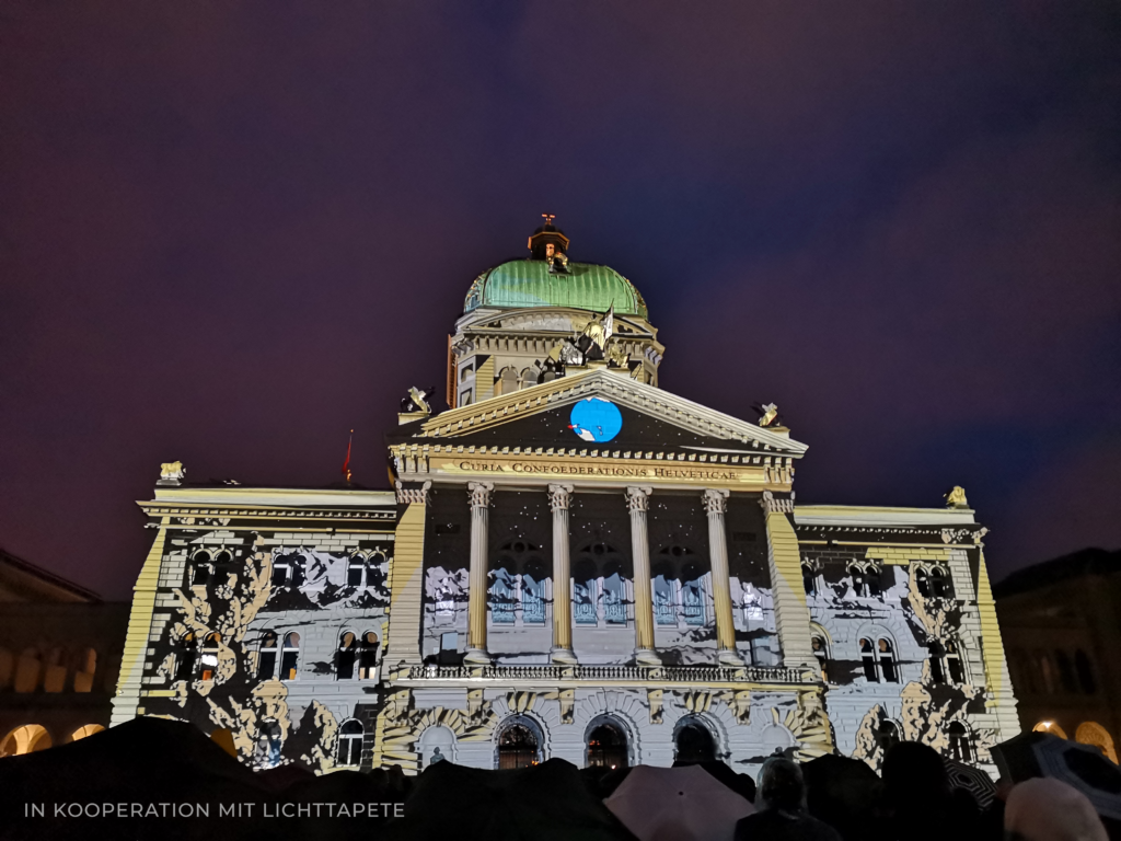 Architectural Video Mapping Bern