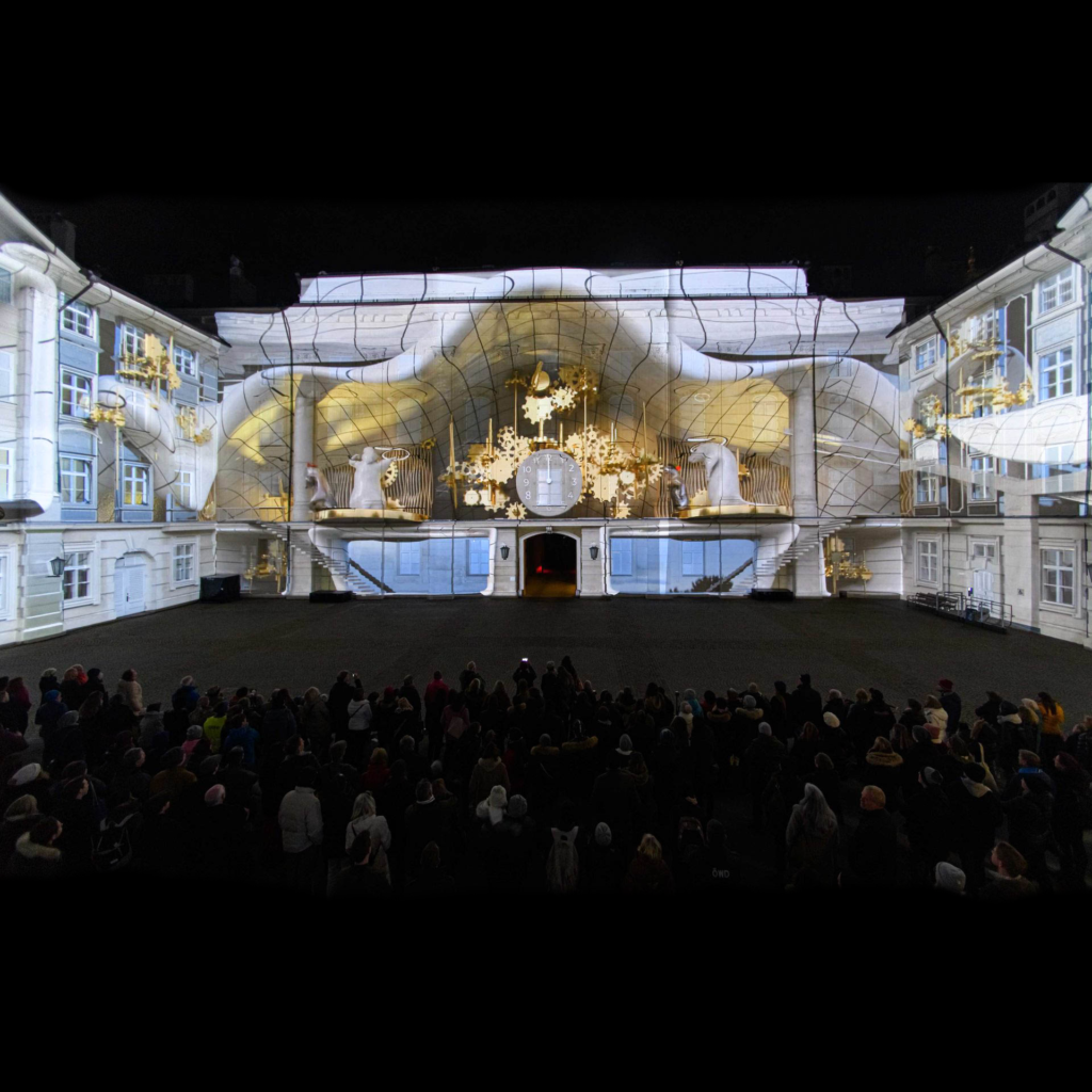 360 Grad Projection Mapping Immersive