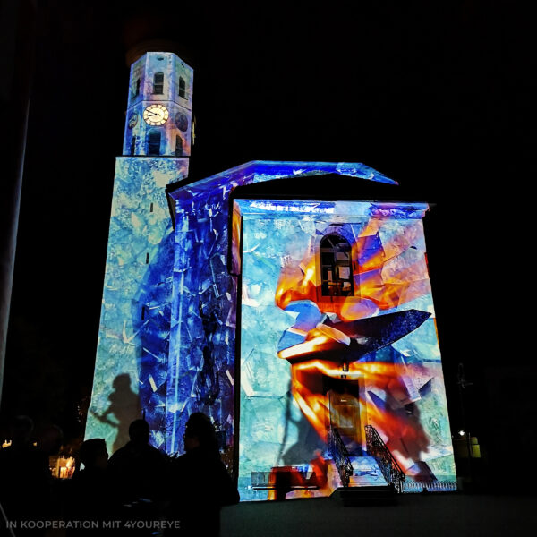 Projection Mapping Montafon, Österreich